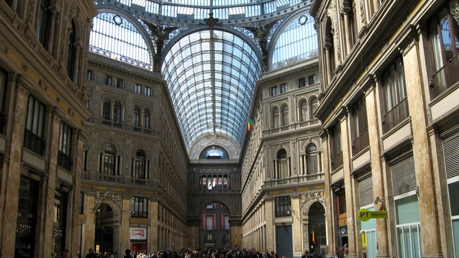 Galleria Umberto in Naples: Exclusive shopping (© Portanapoli.com)
