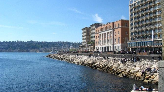 Via Partenope In Naples