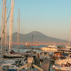 Take a walk along the seafront of Naples and enjoy the panoramas