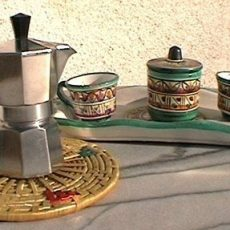 Three ways to prepare a Neapolitan coffee