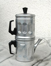 Macchinetta napoletana the Neapolitan flip coffee pot