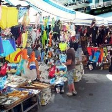 Colourful and exciting markets in Naples