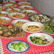 The traditional Neapolitan Christmas Menu