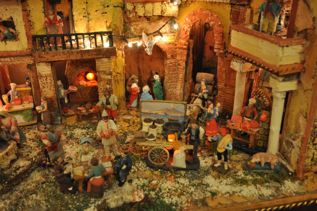 Neapolitan crib of Luigi Buommino